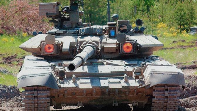 Завершен первый этап поставок Ираку танков Т-90С