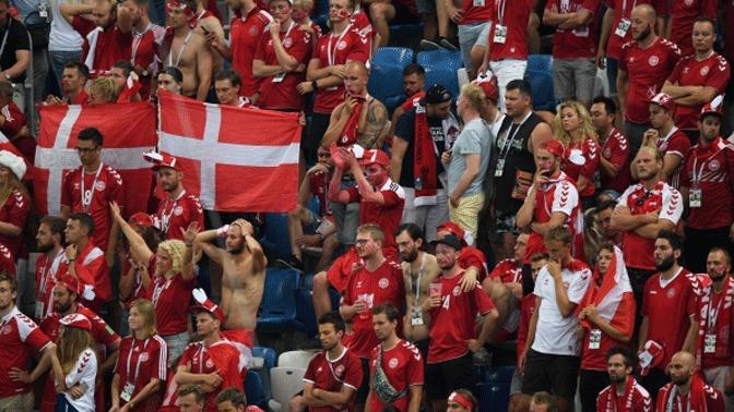 Сборная Дании сыграет с командой России на Евро-2020