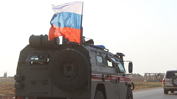 МО: Россия направила дополнительные силы военной полиции на север Сирии