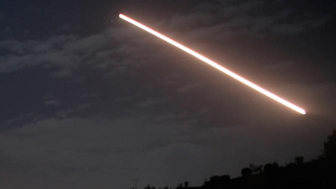СМИ: ПВО Сирии отражает атаку на Дамаск
