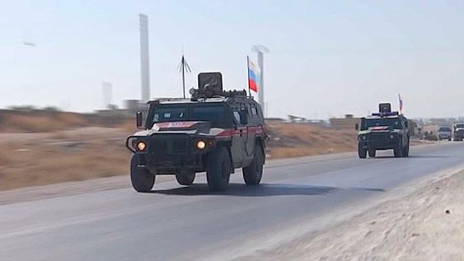 Военная полиция России провела патрулирование в трех сирийских провинциях