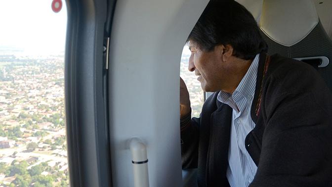 Моралес обвинил командующего ВВС в покушении на убийство