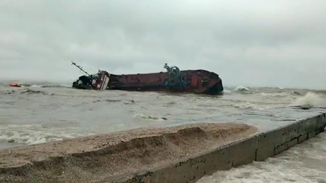 Механик объяснил, почему затонувший в Черном море танкер не подавал сигнал бедствия