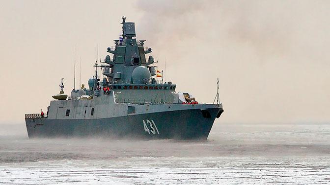 Фрегат «Адмирал Касатонов» вышел в Белое море на ходовые испытания