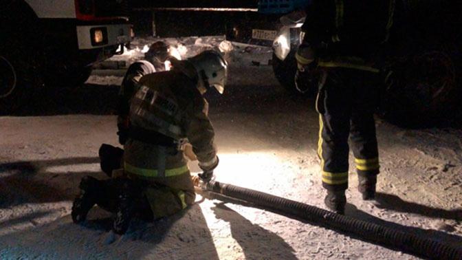 Двое пропавших на горящей шахте в Коми рабочих признаны погибшими