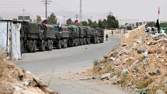 Военная полиция РФ провела патрулирование в провинции Алеппо