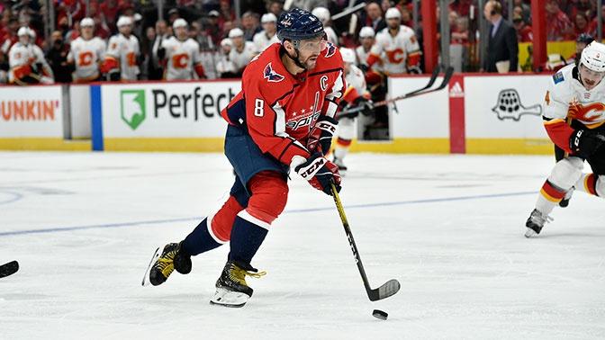 Овечкин стал первым среди европейцев в НХЛ по количеству хет-триков