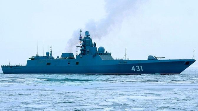 Фрегат «Адмирал Касатонов» выполнил стрельбу главным ракетным комплексом
