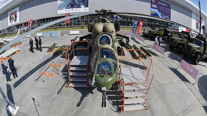 Сербия досрочно получила четыре российских вертолета Ми-35М