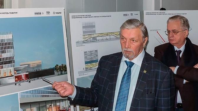 В Санкт-Петербурге умер главный архитектор Эрмитажа Валерий Лукин