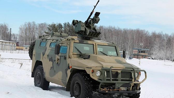 Спецназ ЗВО получит новейшие бронеавтомобили «Тигр-М»