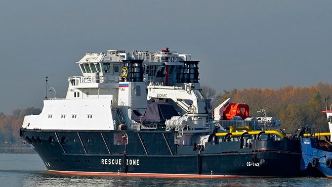 Новый буксир-спасатель для ВМФ успешно прошел госиспытания