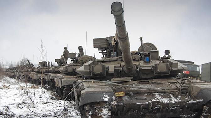 Огонь из пушек и пулеметов: танкисты ЮВО провели боевые стрельбы