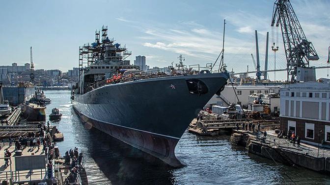 ТОФ получит модернизированный фрегат «Маршал Шапошников» в 2020 году