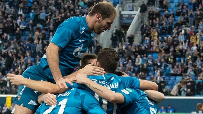 «Зенит» с разгромным счетом победил «Динамо» в матче РПЛ
