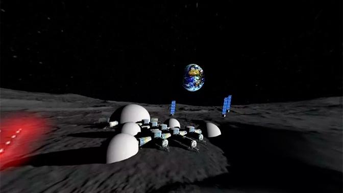 На Украине показали панораму «лунной базы»
