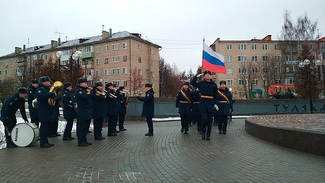 «Ушедшим в бессмертие»: в Туле прошли памятные церемонии в честь 78-й годовщины оборонительной операции