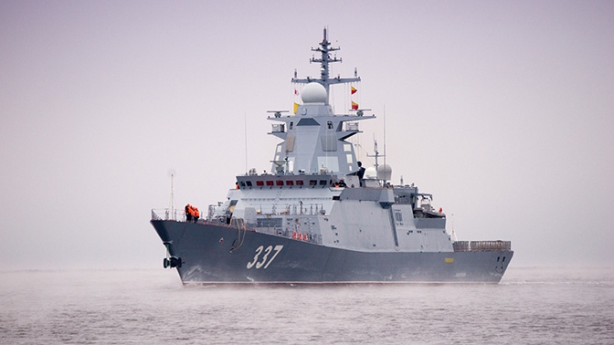 Корвет «Гремящий» вышел на госиспытания в Белое море