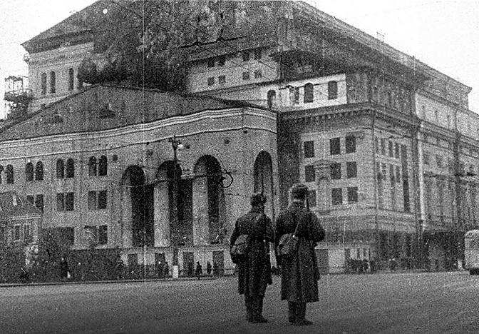 Маскировка Большого театра