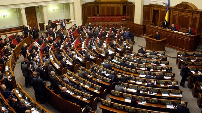 На Украине озвучили сроки снятия депутатской неприкосновенности с Порошенко