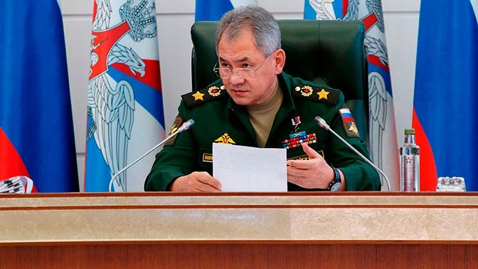 Шойгу заявил о постепенной деградации отношений с НАТО