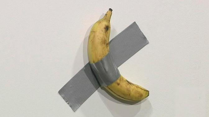 Художник приклеил банан к стене и дважды продал его за $120 тысяч