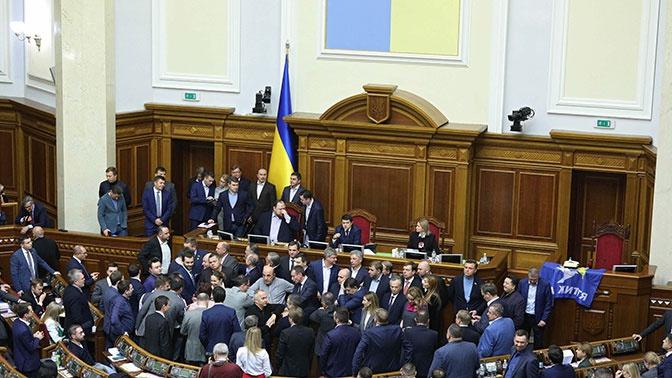 В Верховную раду внесли предложение об отмене закона о госязыке