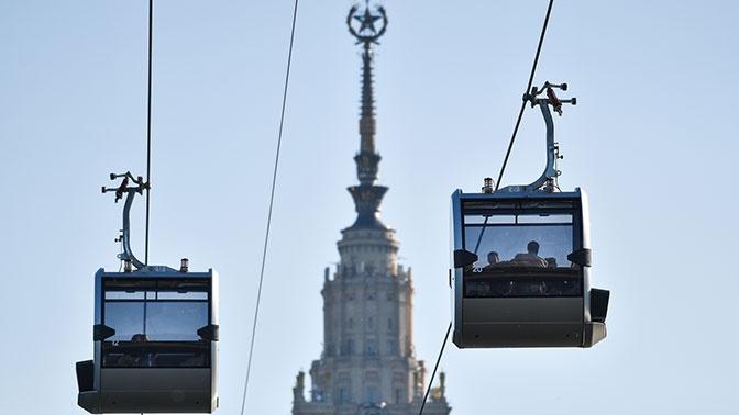 Московская канатная дорога будет бесплатной 10 декабря