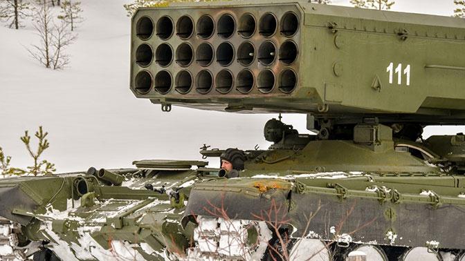 «Техмаш» поставит войскам первую партию огнеметных систем ТОС-2 ко Дню Победы