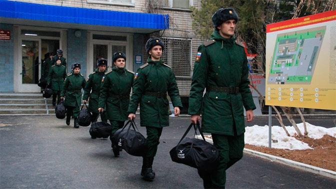 Научные роты пополнились новобранцами из Волгограда