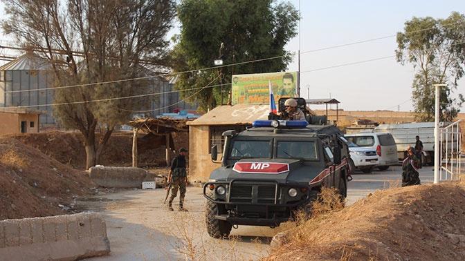 Военная полиция РФ провела патрулирование в Хасеке и Алеппо