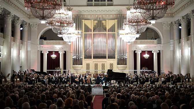 Путин назвал фестиваль «Площадь искусств» одним из главных зимних событий