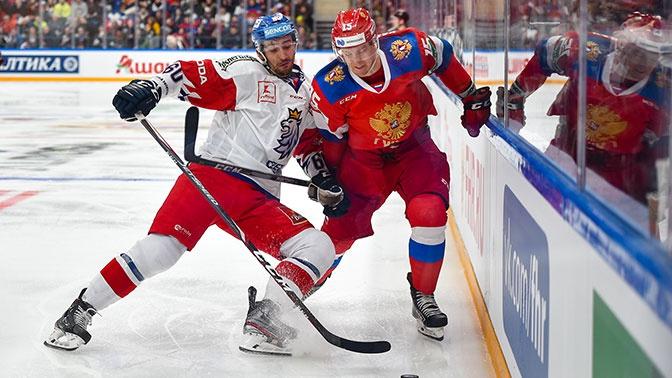 Сборная России одержала победу над Чехией на Кубке Первого канала