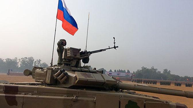 Военнослужащие России и Индии показали образцы вооружения на учениях «Индра-2019»