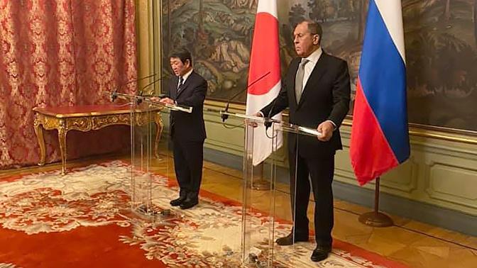 Россия и Япония обсудили тему мирного договора
