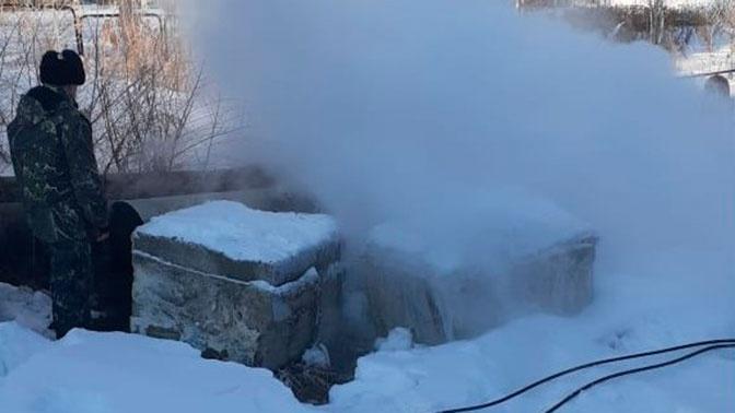 В сильный мороз около 12 тысяч жителей Амурска остались без отопления