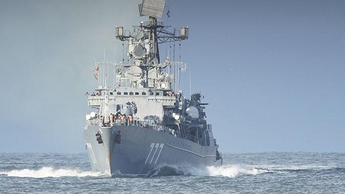 Корабли Балтфлота зашли в иранский порт Чахбехар