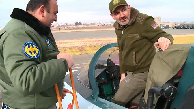 Пашинян назвал покупку Су-30СМ главным приобретением года