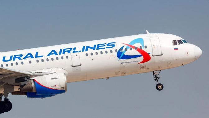 Самолет совершил экстренную посадку в Екатеринбурге из-за неисправности