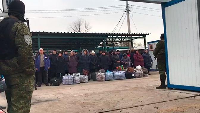 ЛНР передала Украине 25 человек взамен на 63