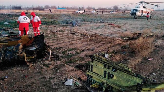 При крушении самолета вИране погибли жители 7-ми стран