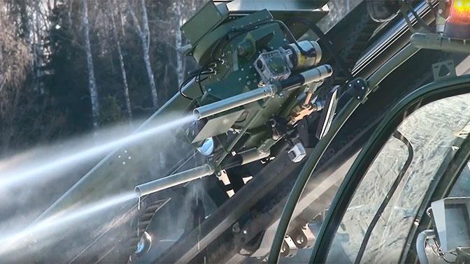 РВСН получили около 100 единиц новейшей техники войск РХБ защиты