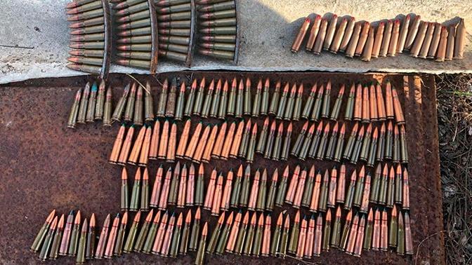 В Крыму обнаружен схрон боеприпасов