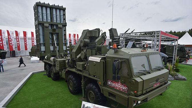 Первая ЗРС С-350 «Витязь» заступит на дежурство в Ленинградской области