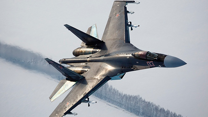 Авиаполк под Тверью проведет первые учения с истребителями Су-35С
