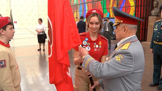 Более 170 школьников вступили в ряды «Юнармии» в Москве