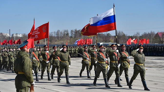 Репетиции Парада Победы начнутся в Подмосковье в конце марта