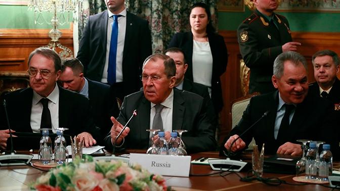 Лавров объяснил значимость состоявшихся переговоров по Ливии
