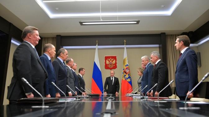 Путин внес в Госдуму законопроект о должности заместителя председателя Совбеза РФ