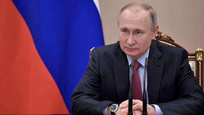 Путин обсудил с председателем Евросовета подготовку берлинской конференции по Ливии